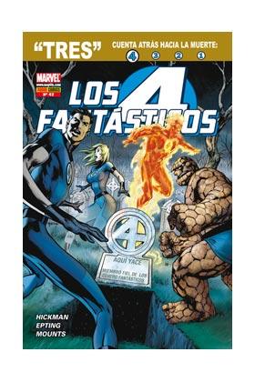 """LOS NUEVOS 4 FANTASTICOS VOL. 7 042 (""""TRES"""" CUENTA ATRAS HACIA LA MUERTE:4)"""