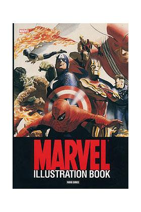 MARVEL ILLUSTRATION BOOK
