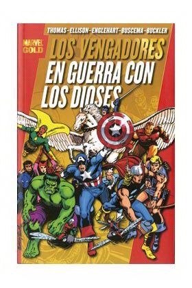 LOS VENGADORES: EN GUERRA CON LOS DIOSES  (MARVEL GOLD)