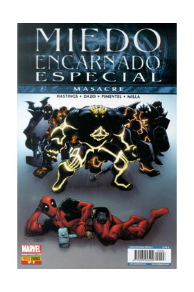 MIEDO ENCARNADO ESPECIAL 03: MASACRE