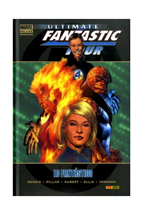ULTIMATE FANTASTIC FOUR 01: LO FANTASTICO (MARVEL DELUXE)