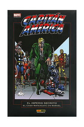 MARVEL POCKETT. CAPITAN AMERICA: EL IMPERIO SECRETO