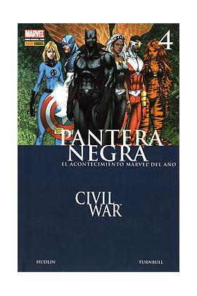 PANTERA NEGRA 04. CRIMENES DE GUERRA (CW)