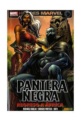 PANTERA NEGRA 07. REGRESO A AFRICA