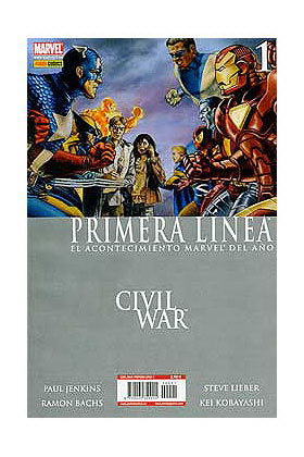 CIVIL WAR PRIMERA LINEA 01 (CW)