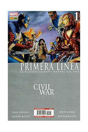 CIVIL WAR PRIMERA LINEA 01 (CW)