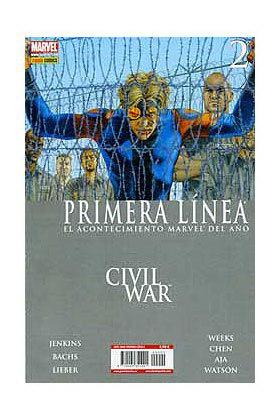 CIVIL WAR PRIMERA LINEA 02 (CW)