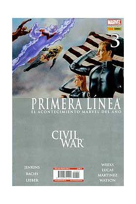 CIVIL WAR PRIMERA LINEA 03 (CW)