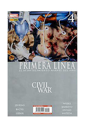 CIVIL WAR PRIMERA LINEA 04 (CW)