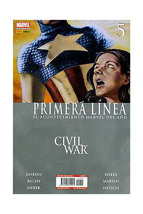 CIVIL WAR PRIMERA LINEA 05 (CW)