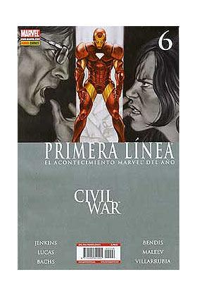 CIVIL WAR PRIMERA LINEA 06 (CW) (ÚLTIMO)