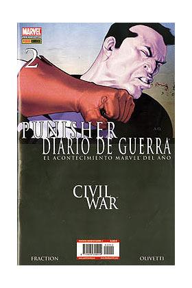 PUNISHER DIARIO DE GUERRA VOL. 2 02 (COMIC) (CW)