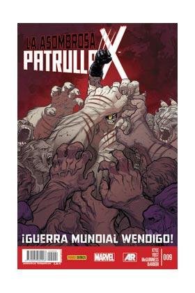 LA ASOMBROSA PATRULLA-X 09