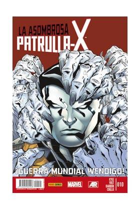 LA ASOMBROSA PATRULLA-X 10