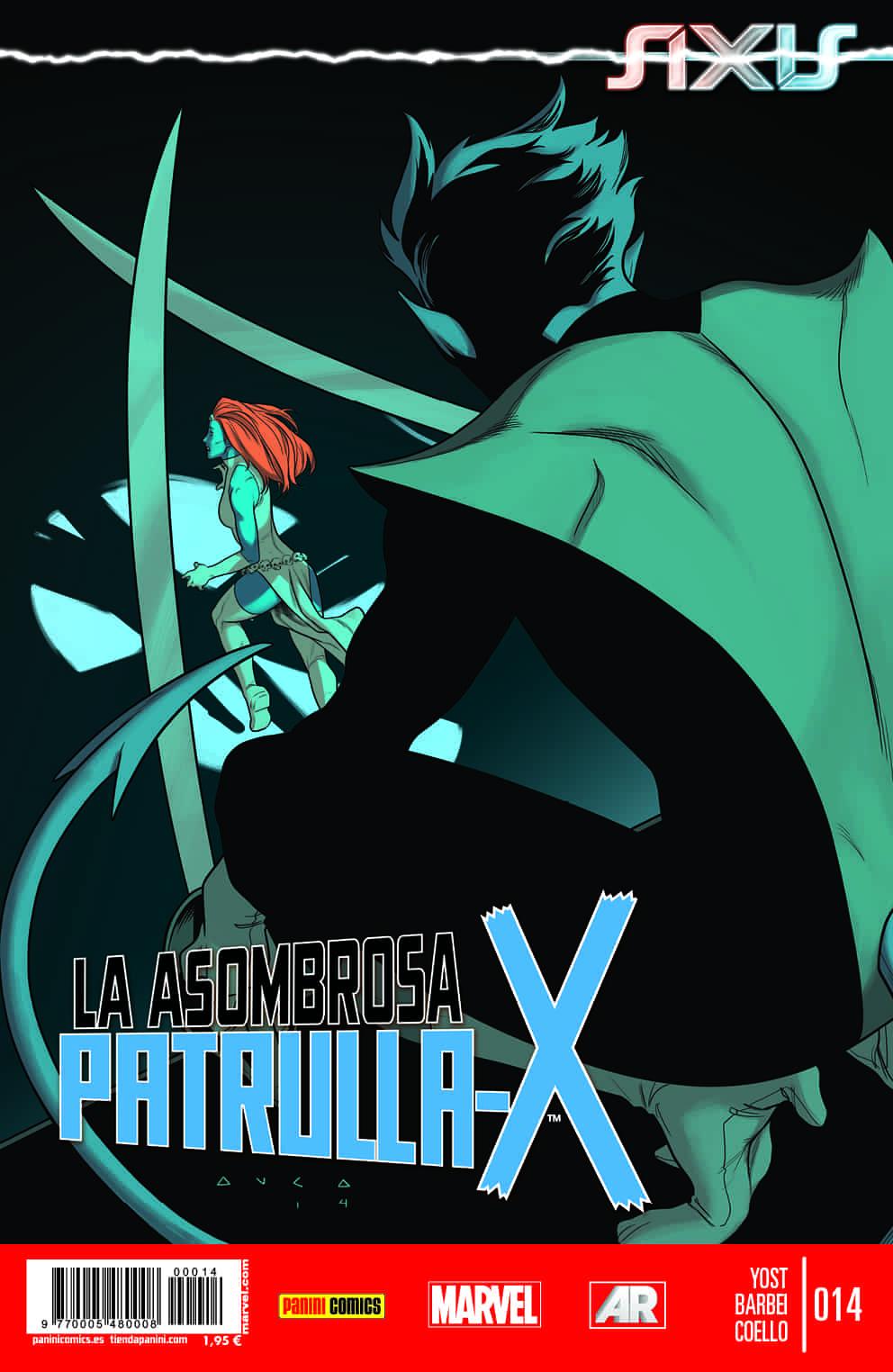 LA ASOMBROSA PATRULLA-X 14. AXIS