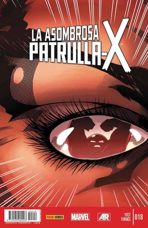 LA ASOMBROSA PATRULLA-X 18