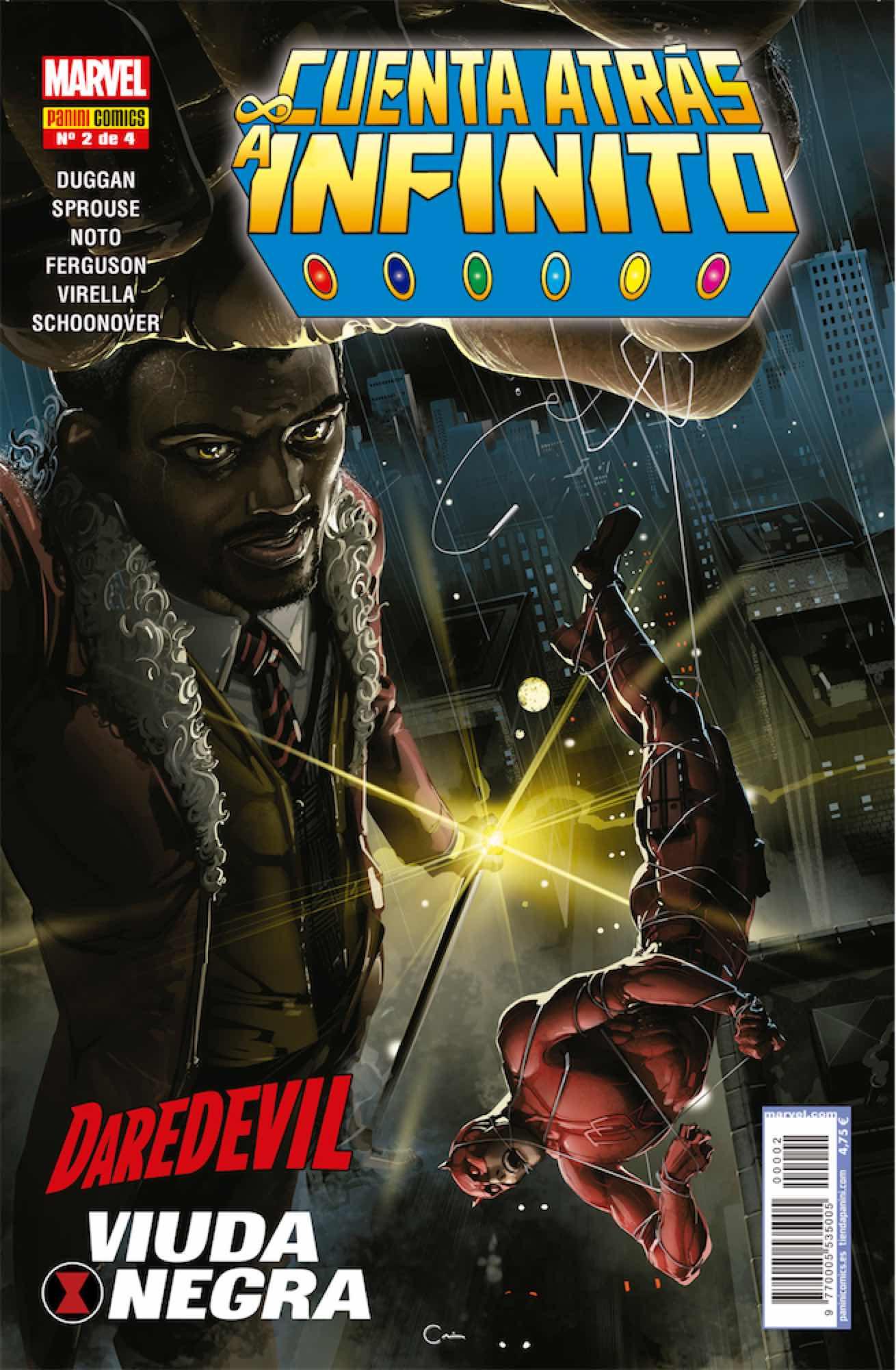 CUENTA ATRAS A INFINITO: HEROES 02