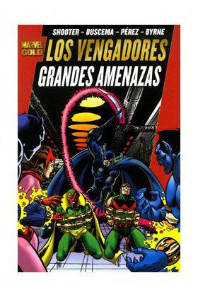 LOS VENGADORES: GRANDES AMENAZAS  (MARVEL GOLD)