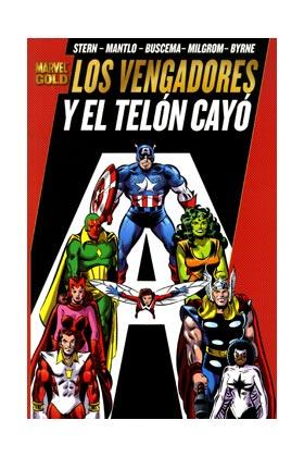 LOS PODEROSOS VENGADORES 03. Y EL TELON CAYO (MARVEL GOLD)