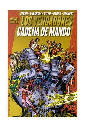LOS PODEROSOS VENGADORES 05. CADENA DE MANDO (MARVEL GOLD)
