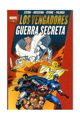 LOS PODEROSOS VENGADORES 07: GUERRA SECRETA (MARVEL GOLD)