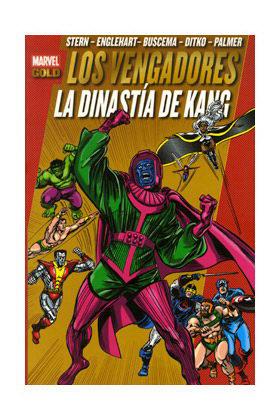 LOS PODEROSOS VENGADORES 08: LA DINASTIA DE KANG (MARVEL GOLD)