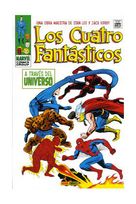 LOS 4 FANTASTICOS: A TRAVES DEL UNIVERSO (MARVEL GOLD)