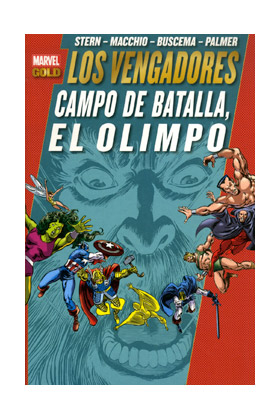 LOS PODEROSOS VENGADORES 10. CAMPO DE BATALLA, EL OLIMPO (MARVEL GOLD)
