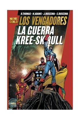 LOS VENGADORES: LA GUERRA KREE-SKRULL (MARVEL GOLD)