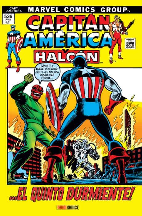 CAPITAN AMERICA. Y EL HALCON. ¡...EL QUINTO DURMIENTE!  (MARVEL GOLD)