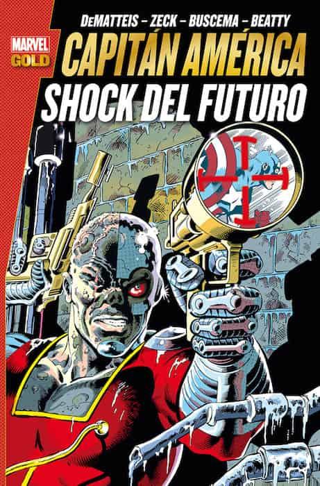 CAPITAN AMERICA SHOCK DEL FUTURO  (MARVEL GOLD)
