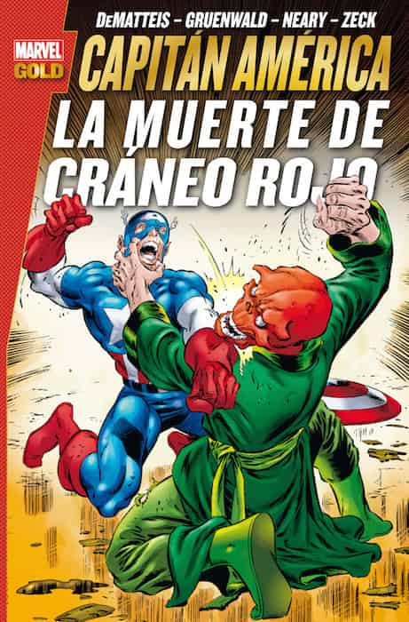 CAPITAN AMERICA: LA MUERTE DE CRANEO ROJO (MARVEL GOLD)
