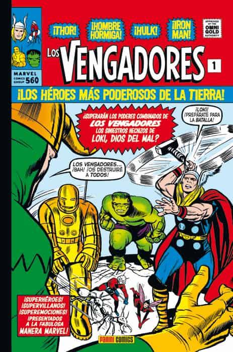 LOS VENGADORES. LA LLEGADA DE LOS VENGADORES (MARVEL GOLD)