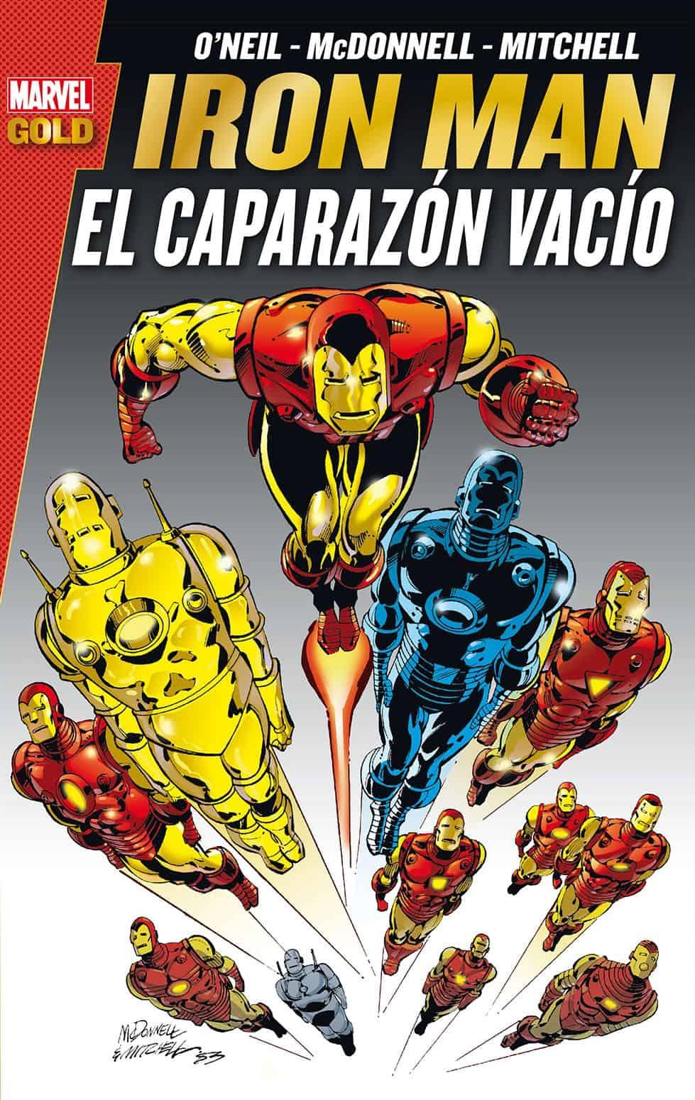 IRON MAN: EL CAPARAZON VACIO (MARVEL GOLD)
