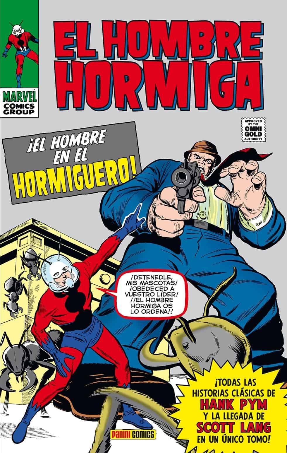 EL HOMBRE HORMIGA. EL HOMBRE EN EL HORMIGUERO (MARVEL GOLD)