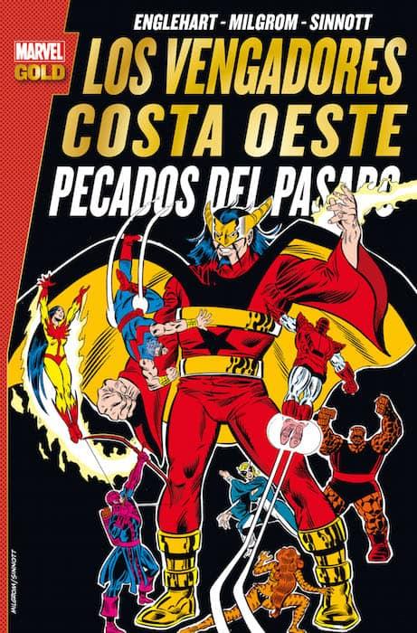 LOS VENGADORES. COSTA OESTE: PECADOS DEL PASADO (MARVEL GOLD)