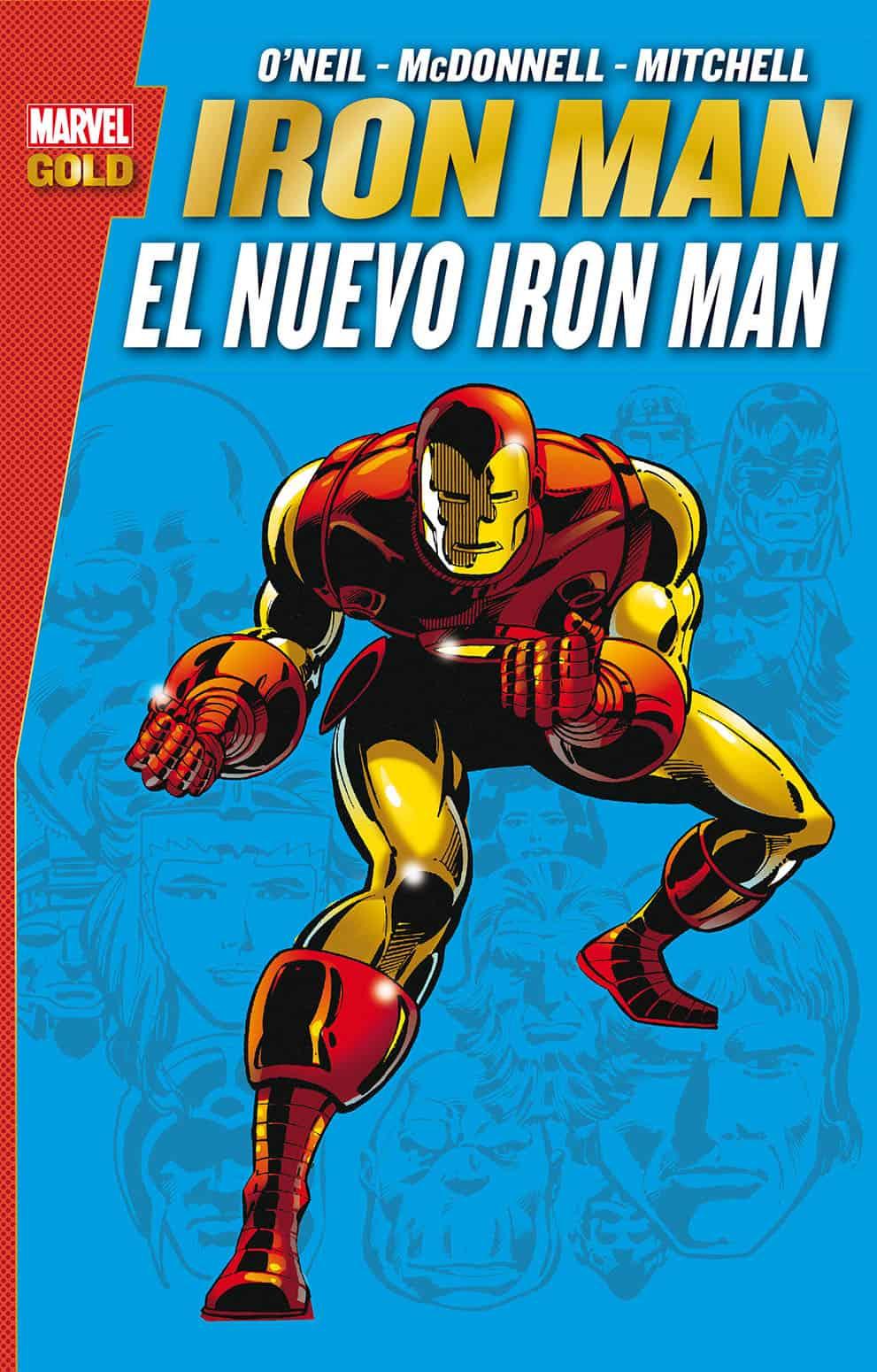 IRON MAN. EL NUEVO IRON MAN (MARVEL GOLD)