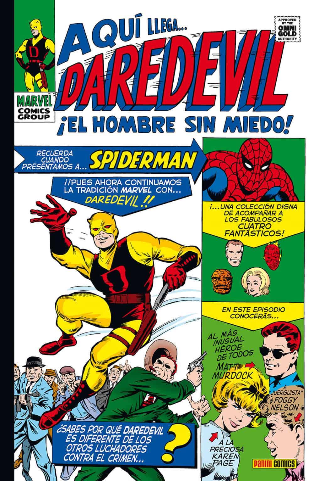 DAREDEVIL 01. EL HOMBRE SIN MIEDO (MARVEL GOLD)