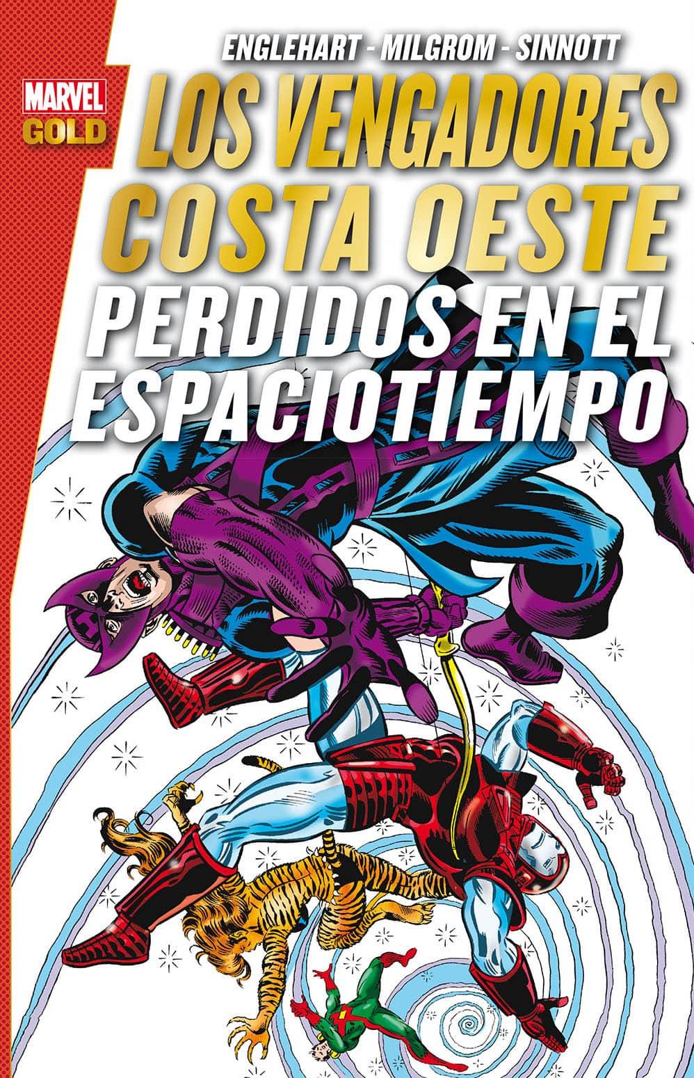 LOS VENGADORES. COSTA OESTE: PERDIDOS EN EL TIEMPO (MARVEL GOLD)