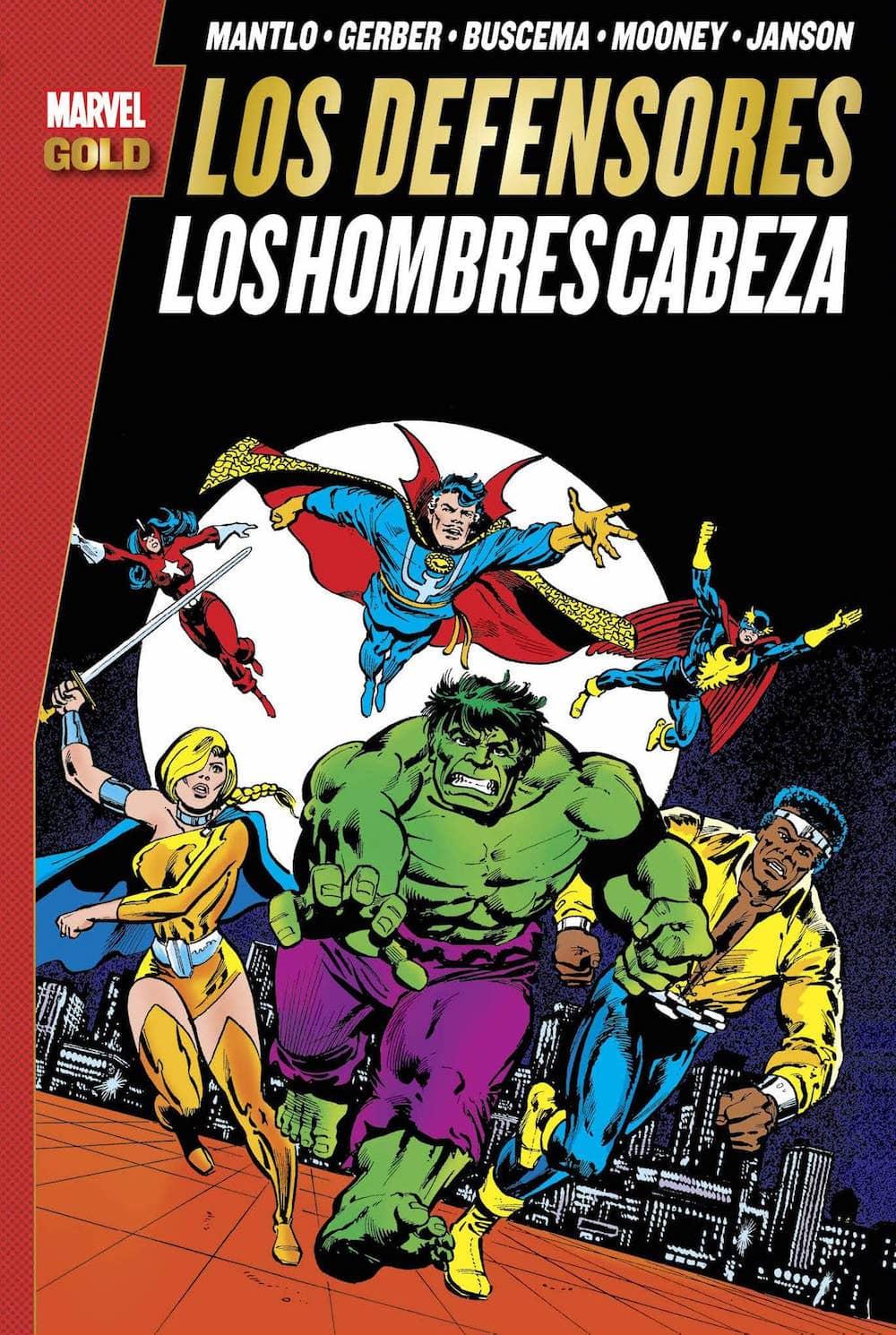 LOS DEFENSORES: LOS HOMBRES CABEZA   (MARVEL GOLD)