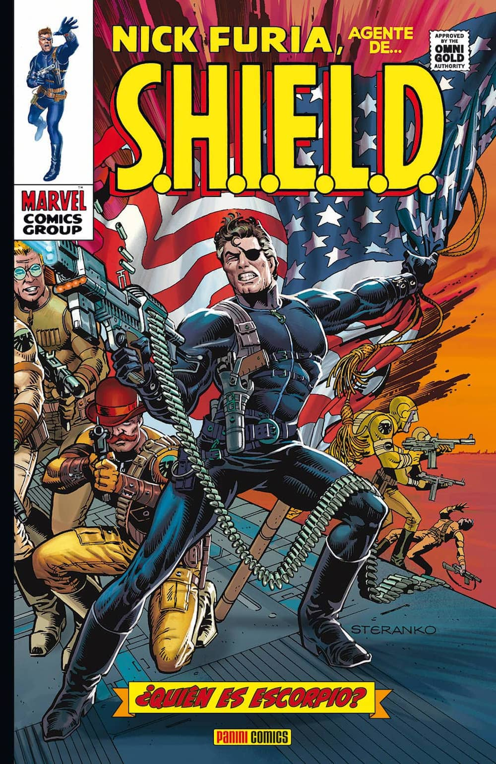 NICK FURIA. AGENTE DE SHIELD 02.    (MARVEL GOLD)