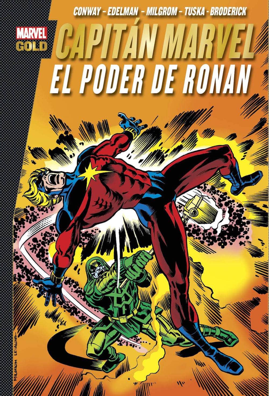 CAPITAN MARVEL: EL PODER DE RONAN  (MARVEL GOLD)