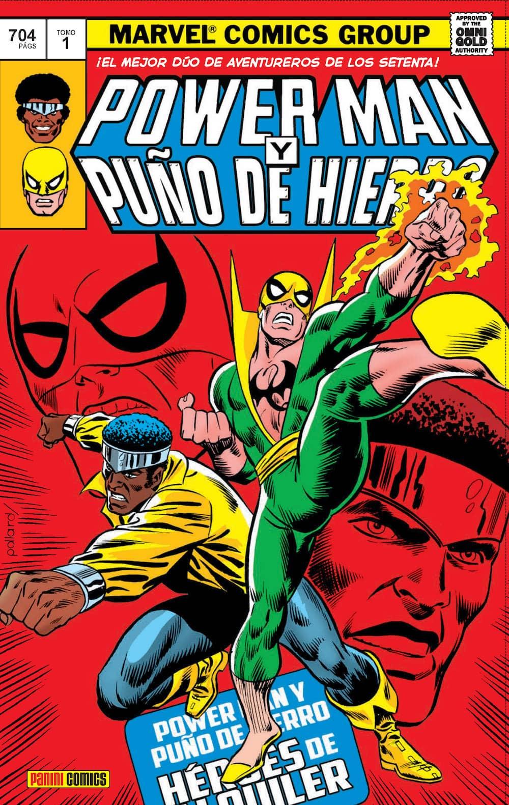 POWER MAN Y PUÑO DE HIERRO 01. HÉROES DE ALQUILER  (MARVEL GOLD)