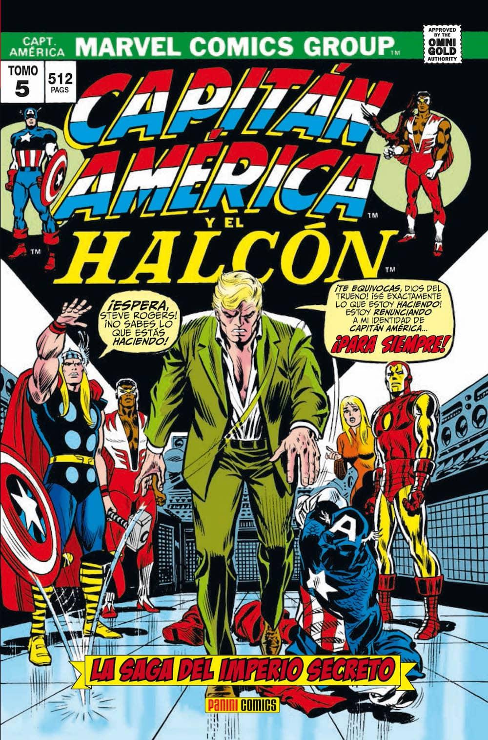 CAPITAN AMERICA Y EL HALCON 05. LA SAGA DEL IMPERIO SECRETO (MARVEL GOLD)