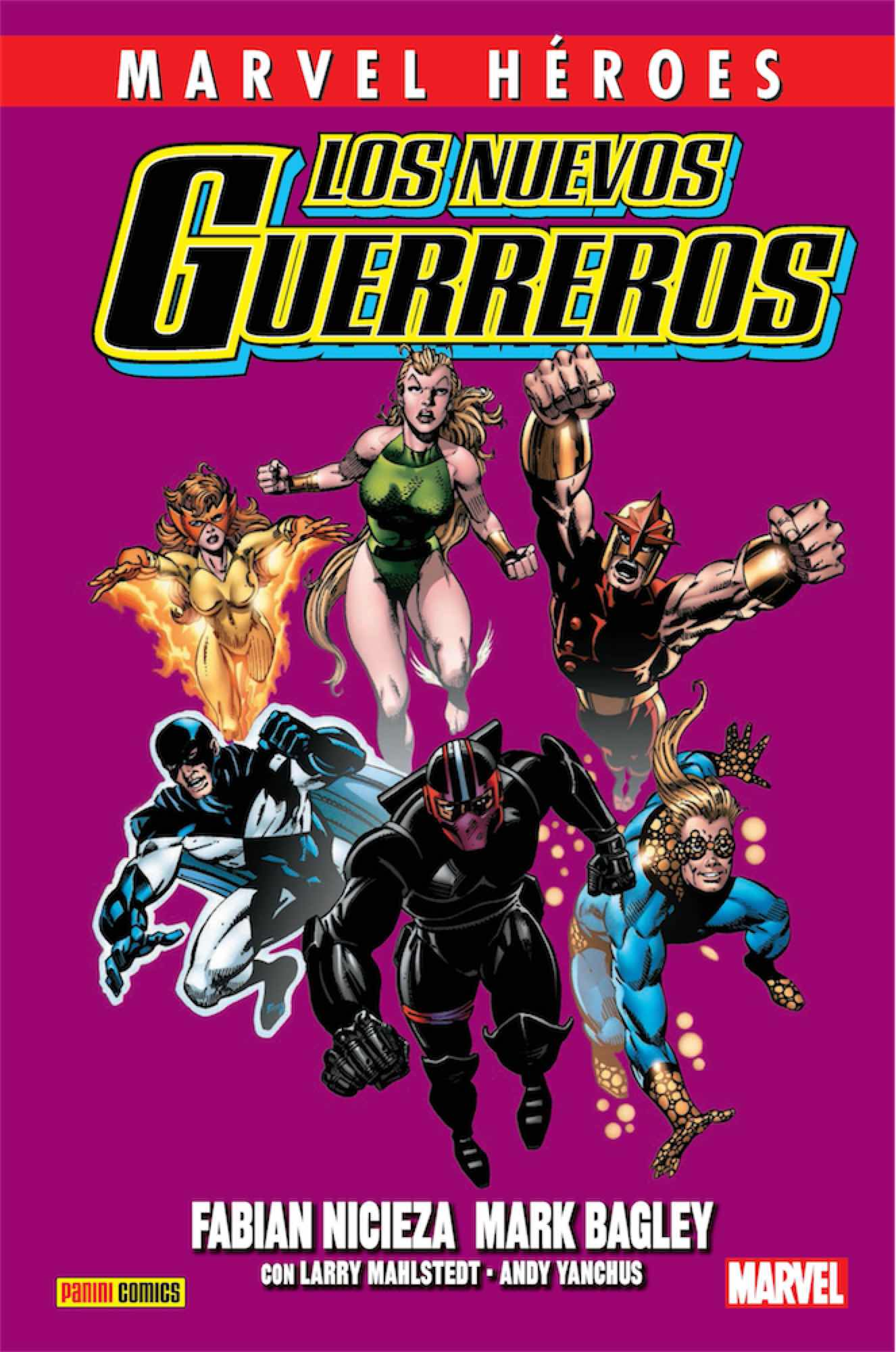 CMH 91: LOS NUEVOS GUERREROS 01