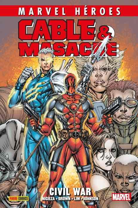 CMH 97: CABLE & MASACRE 02. CIVIL WAR