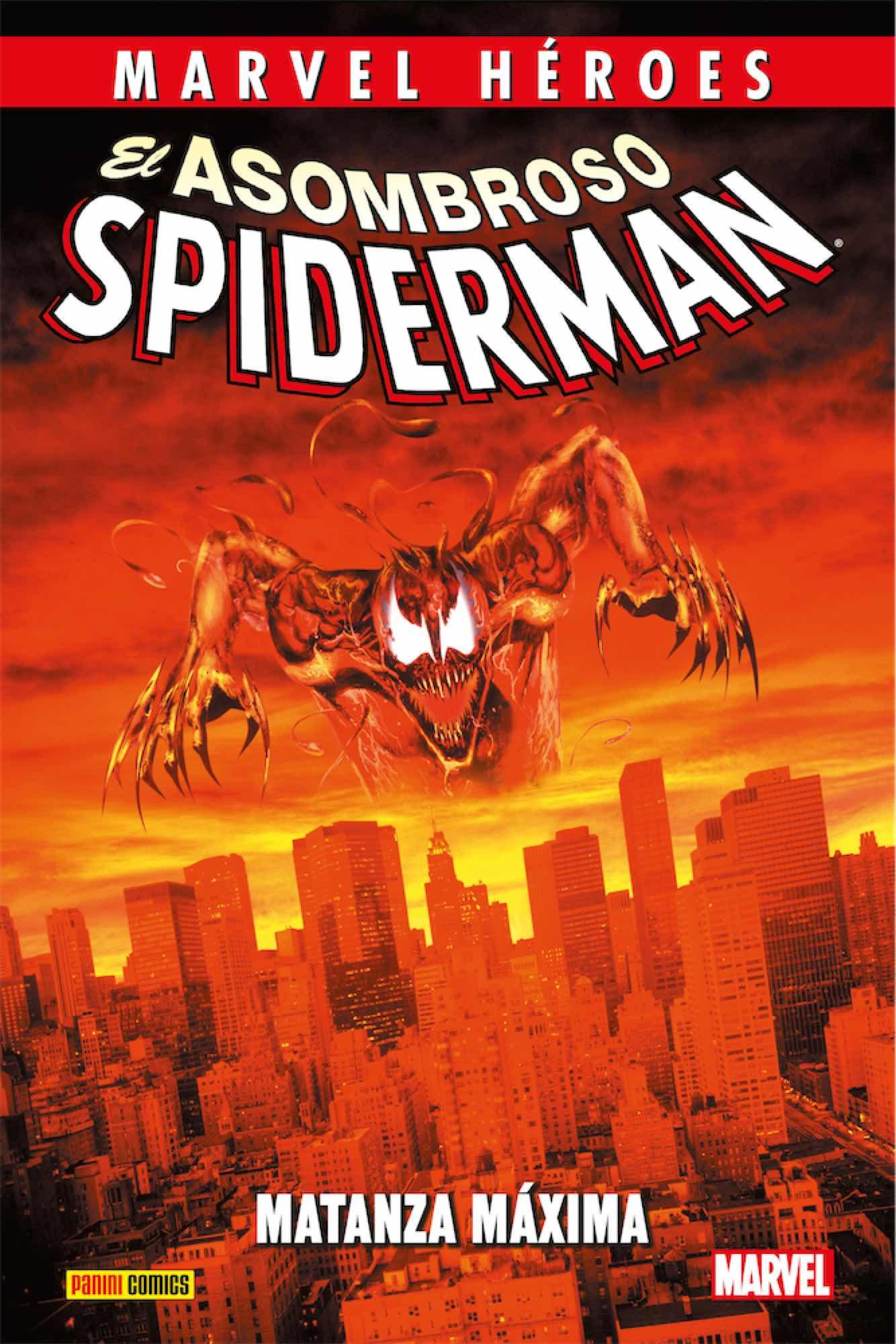 CMH 105: EL ASOMBROSO SPIDERMAN: MATANZA MAXIMA