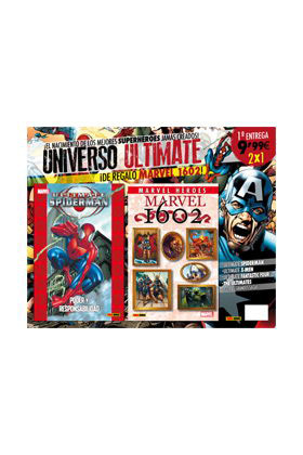 PACK ULTIMATE 01 (SPIDERMAN 01+ CMH 42:1602)