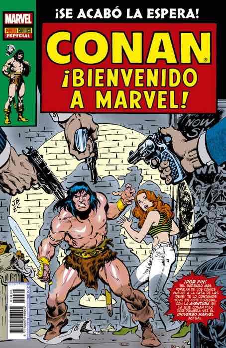 CONAN EL BARBARO: BIENVENIDO A MARVEL