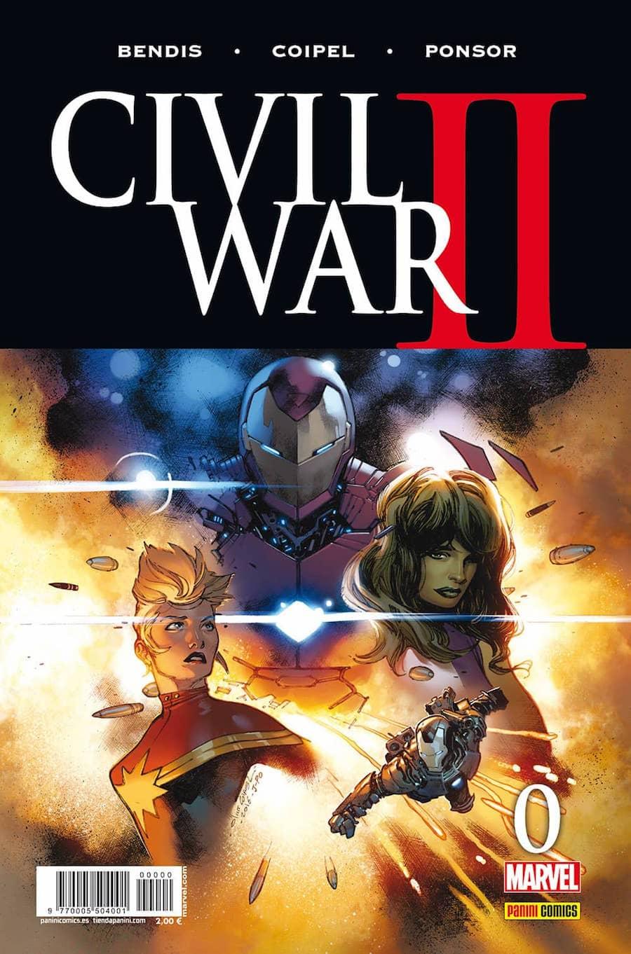 CIVIL WAR II N. 0